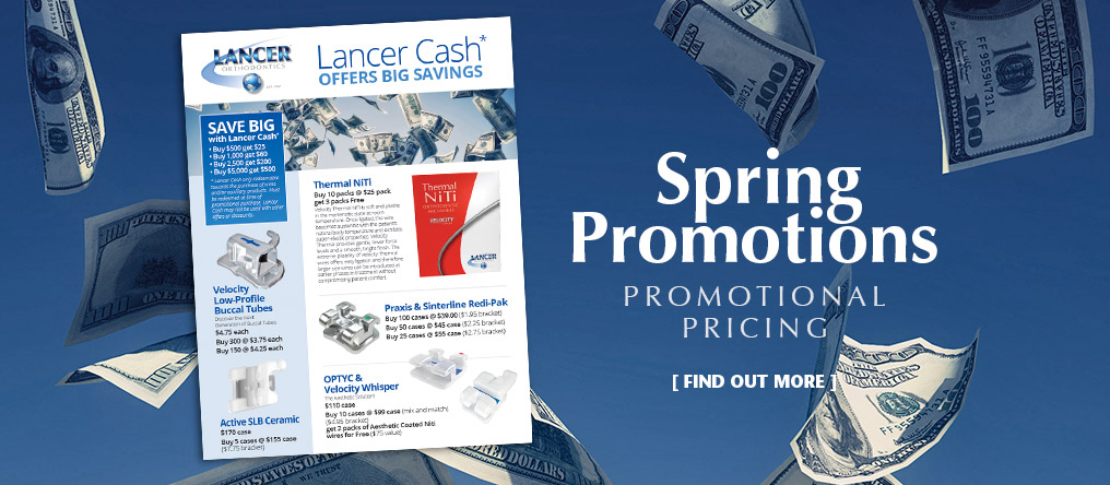 SPRING PROMOTIONS. Promotional Pricing. Find Out More.