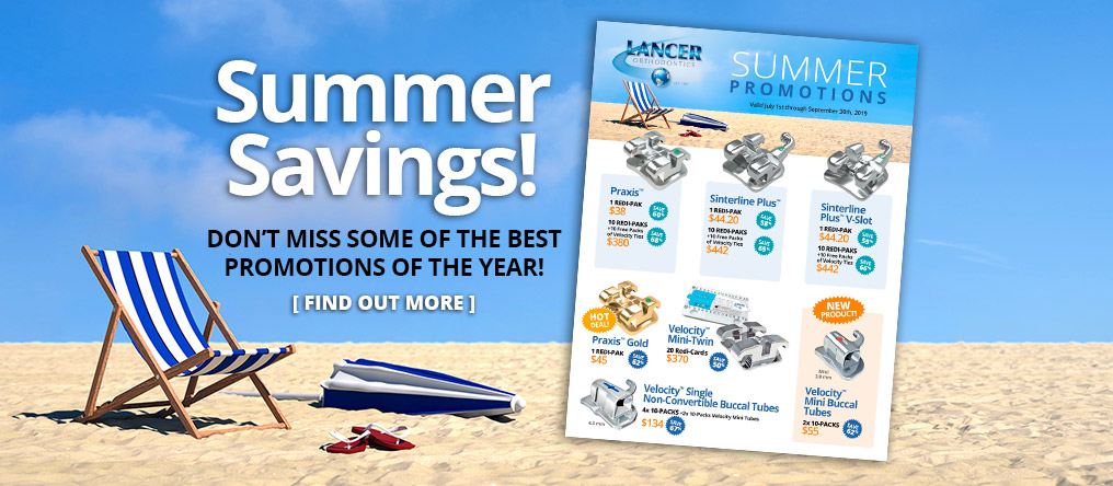Summer Savings! Don't miss some of the best promotions of the year! Find out more.