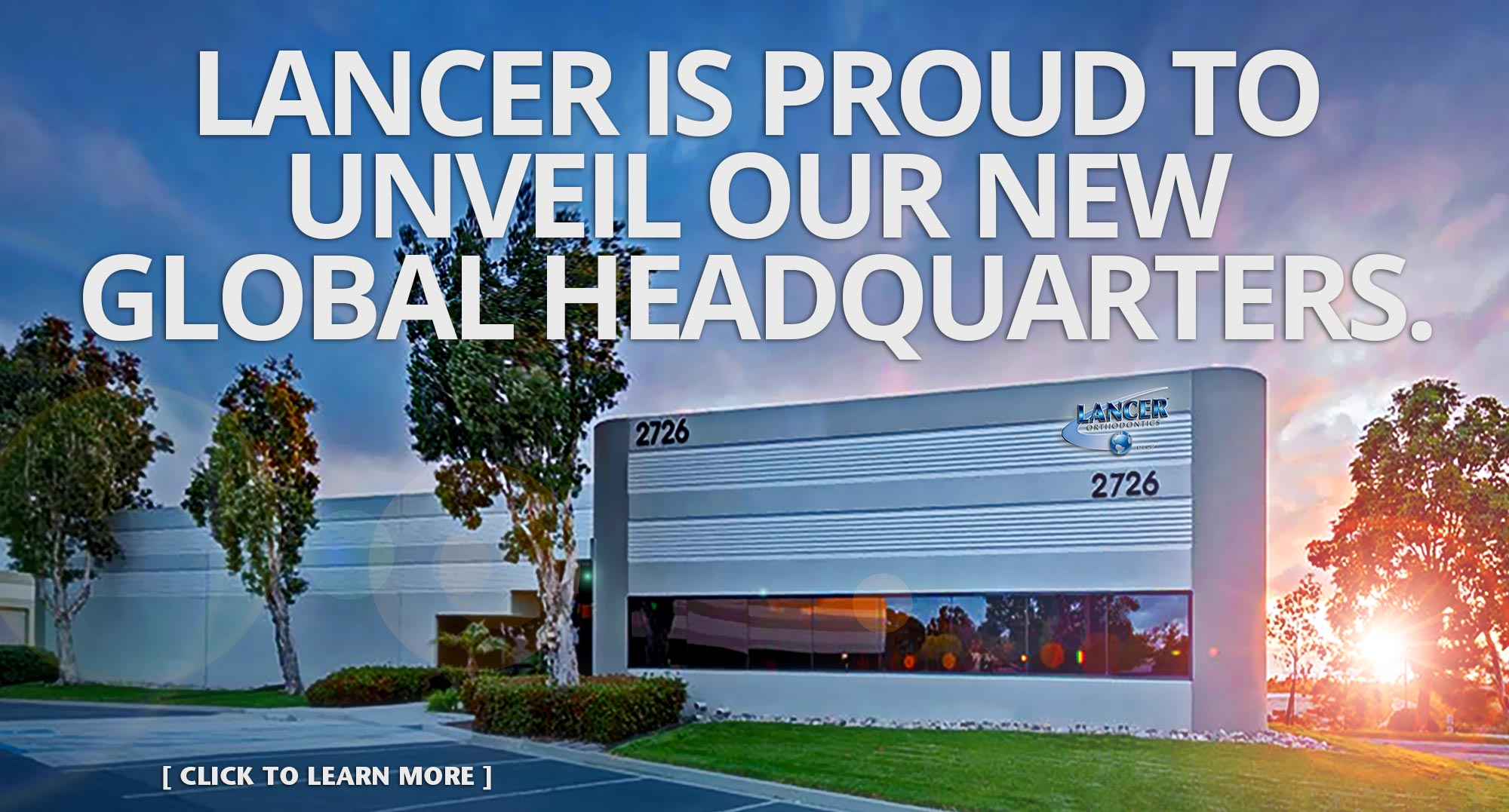 Lancer is proud to unveil our new global headquarters.