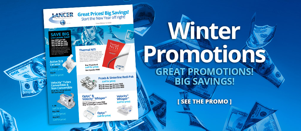 Winter Promotions. Great Promotions! Big Savings! SEE THE PROMO.