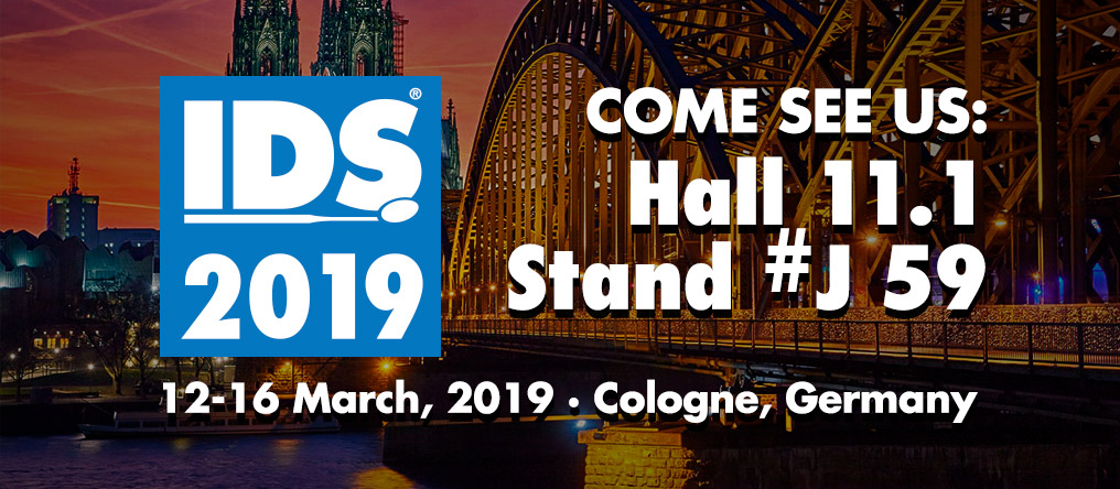 Come see Lancer at IDS 2019. Cologne, Germany. Hall 11.1 - Stand #J 59